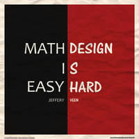 Math vs Design by oneskillwonder
