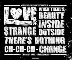 Love is Strange by oneskillwonder