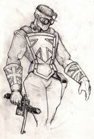 steampunk captain britain 2 by colgreyis