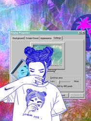 Vaporwave collage by SimonVV