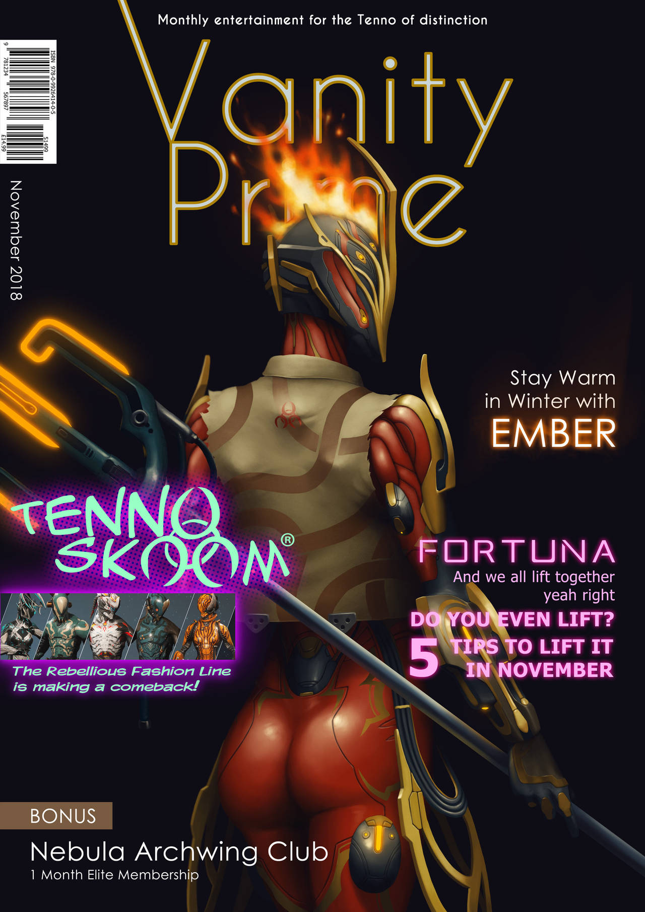 Vanity Prime November by ArtmanceR