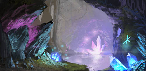 Crystal Cave by Coolb3rt
