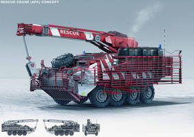 Rescue Crane Concept by Coolb3rt