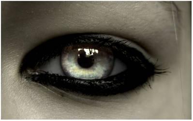 Cyan's Eye ::manipulated:: by soraneko