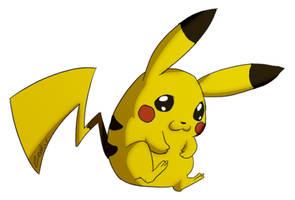 Pikachu... again by Zeakari