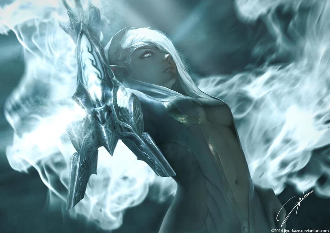 Aoelia the Soul Eater by Jiyu-Kaze