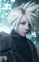 Cloud Strife by Jiyu-Kaze