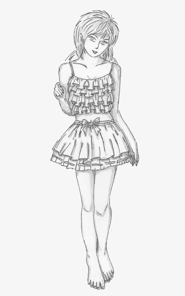 Frilly Cute Outfit by studioartmix
