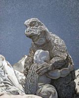 Son of Godzilla by monsterartist