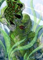 Gillman by monsterartist
