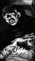 Karloff as Im Ho Tep by monsterartist