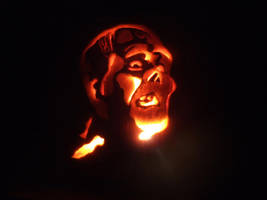 The Chaney Phantom by monsterartist