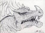 Anguirus by monsterartist