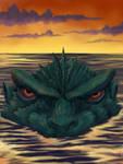 Godzilla Rising by monsterartist