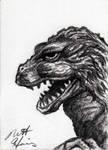 Godzilla '62 by monsterartist