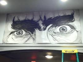 Bela Lugosi's Eyes by monsterartist