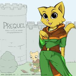 Prequel - Katia in Graphics Gale by Gannadene