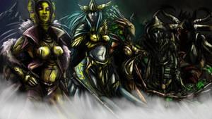 Guild Wars Lore : The Five True Gods by Gannadene