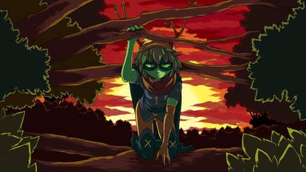 Huntress Wizard by Gannadene