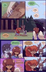 Scary Lessons Comic (4 of 6) by Gannadene