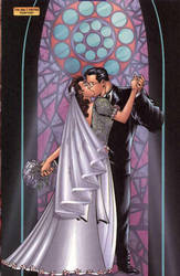 superman and lois lane wedding kiss by pharynroller360