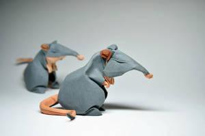 Origami Rats by HTQuyet