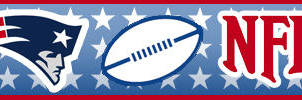 NE Patriots NFL - Sign Bar by SethCohen88