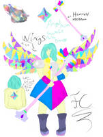 Remake Angel Aura Quartz by FaridCreator