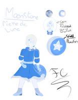 Remake Gemsona Moonstone/ Pierre de Lune by FaridCreator