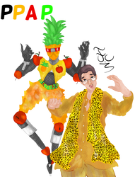 PPAP Stand Oc by FaridCreator