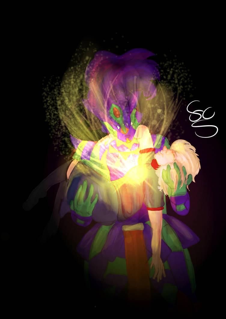Jojo Oc Tyler and Bonnie Pratchett by FaridCreator