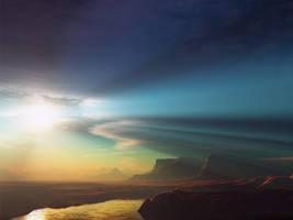 Beyond the light by dilekt