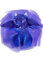Deer Tears by fralea