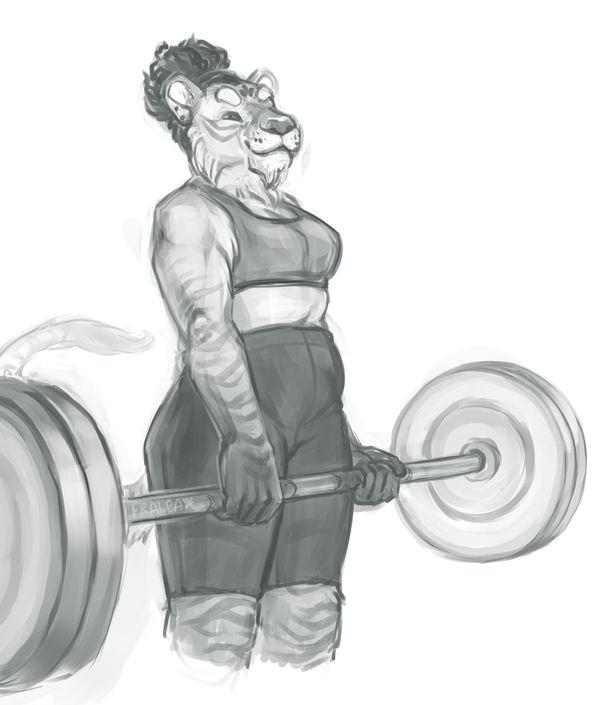 Strongwoman by fralea