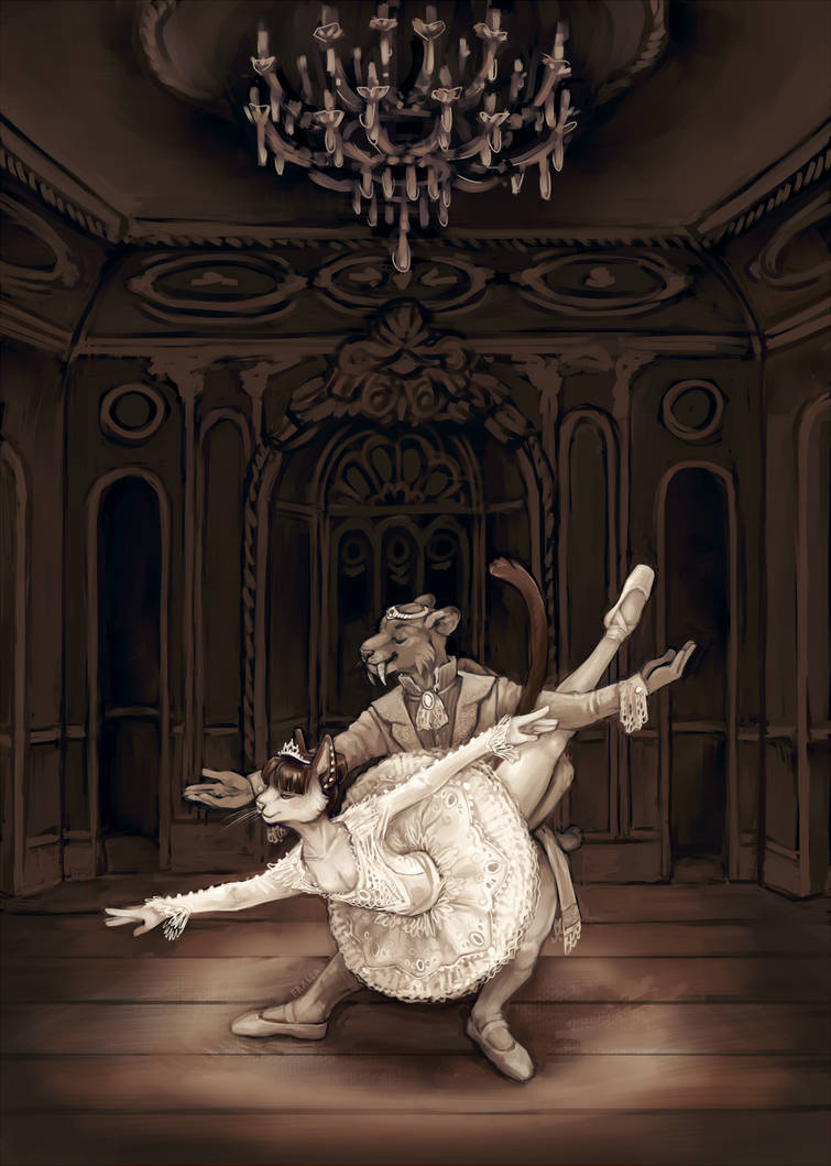 Sofia and Ramses in Sleeping Beauty by fralea
