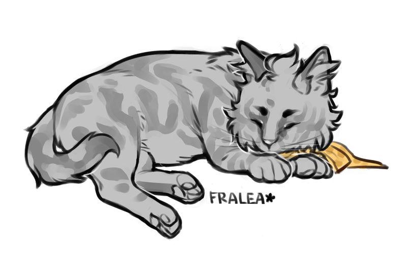 Kuto the Kitty by fralea