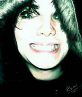 Gerard Way Smile by Raygunwilldance4hugz