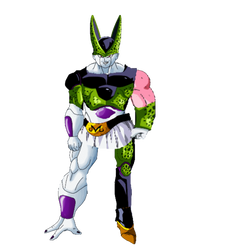 What if? Cell absorbed Frieza and Buu? by MrEpicDrawer
