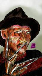 Freddy Krueger Robert Englund - Revenge Terror by usadragonroar