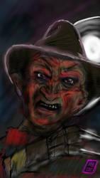 Freddy Krueger Robert Englund - Mind If I Cut In by usadragonroar