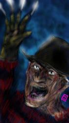 Freddy Krueger Robert Englund - Blahaha! by usadragonroar