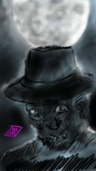 Freddy Krueger - Night Terror by usadragonroar
