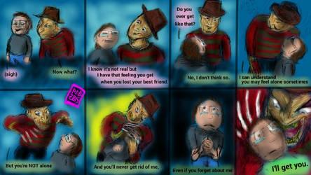 Freddy Krueger - Referbished Art by usadragonroar