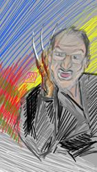 Freddy Krueger Robert Englund Colourful Character by usadragonroar