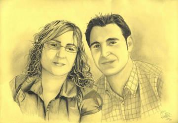 Maria Isabel y Juan Francisco by jrafaelnavarro