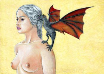 Mother of Dragons by jrafaelnavarro
