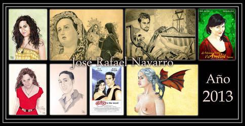 2013 art summary by jrafaelnavarro