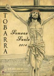 Cartel de Semana Santa de Tobarra 2014 by jrafaelnavarro