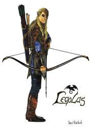 Legolas Greenleaf by jrafaelnavarro