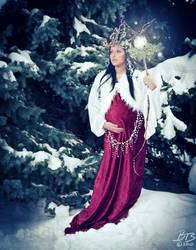 Yule Goddess by BigBS4